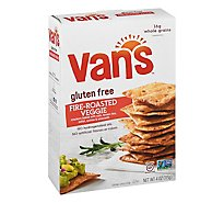 Vans Crackers Baked Fire-Roasted Veggie Gluten Free - 4 Oz