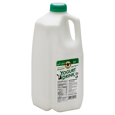 Karoun Mint Flavor Yogurt Drink - 1 Half Gallon