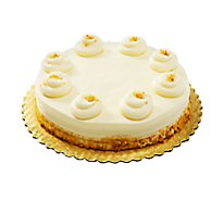 Bakery Cake 8 Inch 1 Layer Pumpkin - Each