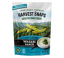 Harvest Snaps Snapea Crisps Wasabi Ranch - 3.3 Oz