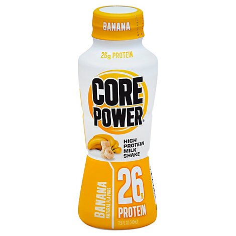 CORE Power Milk Shake High Protein Banana - 11.5 Fl. Oz.