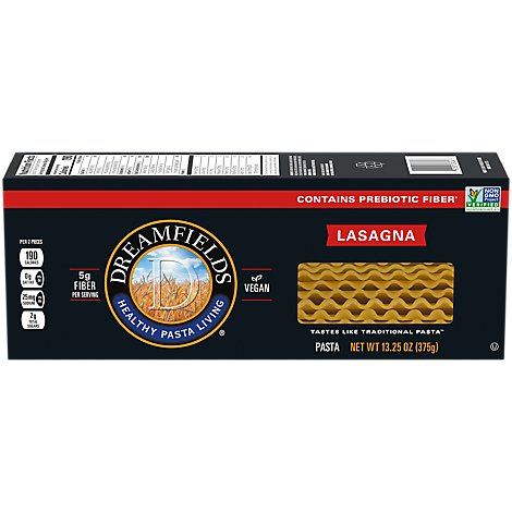 Dreamfields Pasta Lasagna Box - 13.25 Oz