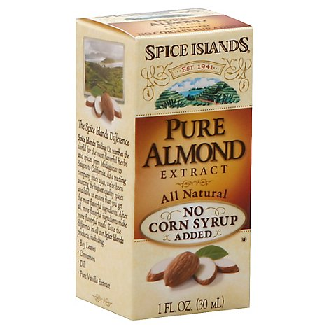 Spice Islands Extract Pure Almond - 1 Oz