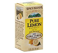 Spice Islands Extract Pure Lemon - 1 Oz