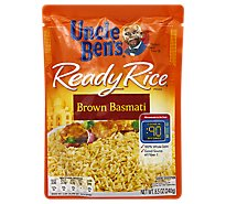 Uncle Bens Ready Rice Pouch Brown Basmati - 8.5 Oz