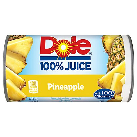 Dole Juice 100% Pineapple With Vitamin C - 12 Fl. Oz.