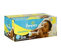 Pampers Swaddlers Diapers Size 3 (16-28 lb) Sesame Beginnings - 88 Count