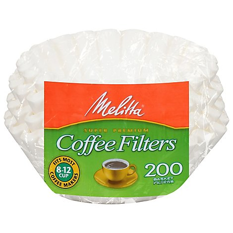 Melitta Coffee Filters Super Premium - 200 Count