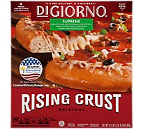 DIGIORNO Pizza Original Rising Crust Supreme Frozen - 31.5 Oz