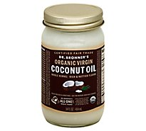 Dr. Bronners Coconut Oil Organic Virgin - 14 Fl. Oz.