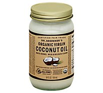 Dr. Bronners Coconut Oil Virgin Magic All-One! Fresh-Pressed - 14 Fl. Oz.