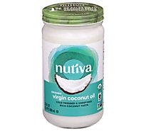 Nutiva Nurture Vitality Coconut Oil Virgin - 23 Fl. Oz.