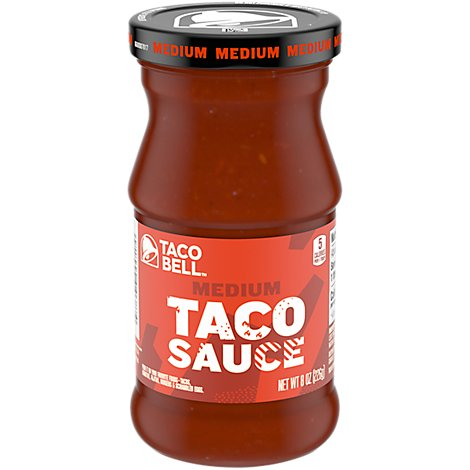 Taco Bell Taco Sauce Medium Jar - 8 Oz