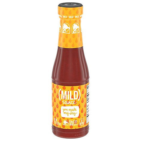 Taco Bell Sauce Mild It Only Gets Hotter From Here Bottle - 7.5 Oz
