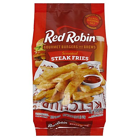 Red Robin Fries Steak Seasoned - 22 Oz