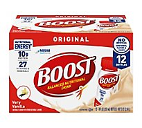 BOOST Nutritional Drink Original Very Vanilla - 12-8 Fl. Oz.