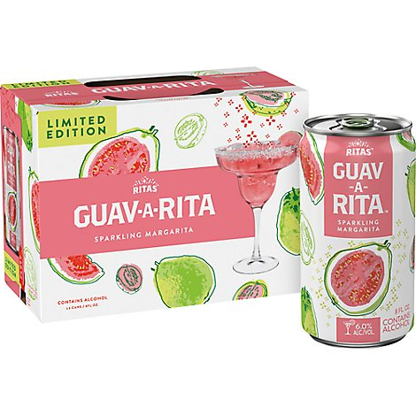 Bud Light Lime Margarita Can Peach-A-Rita - 12-8 Fl. Oz.