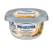 Philadelphia Cream Cheese Spread Brown Sugar & Cinnamon - 8 Oz