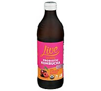Live Kombucha Soda Raw & Organic Pure Doctor - 12 Fl. Oz.