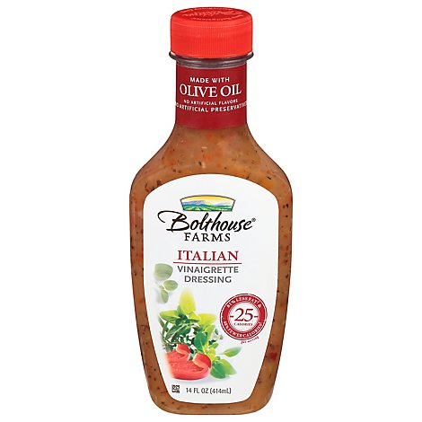 Bolthouse Farms Italian Dressing - 14 Fl. Oz.