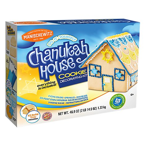 Manischewitz Chanukah House Decorating Kit - 47 Oz