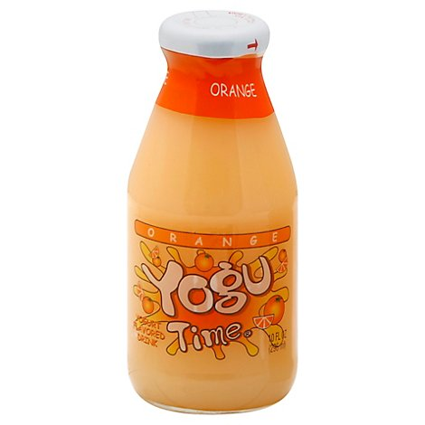 Yogu Time Orange - 10 Oz