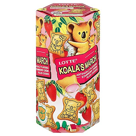 Lotte Koala March Strawberry - 1.45 Oz