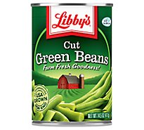 Libbys Green Beans Cut - 14.5 Oz