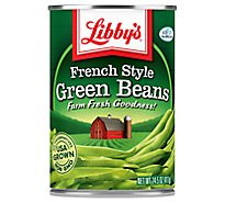 Libbys Green Beans French Style - 14.5 Oz