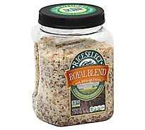 Rice Select Royal Blend Texmati Rice with Red Quinoa Light Brown - 28 Oz
