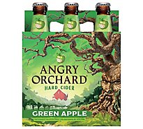 Angry Orchard Hard Cider Green Apple Bottles - 6-12 Fl. Oz.