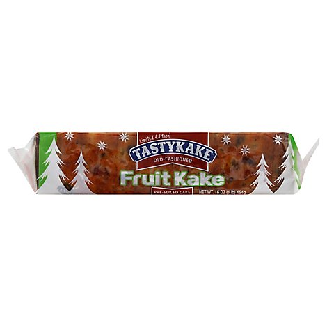 Tastykake Old Fashioned Fruit Kake Pre Sliced - 16 Oz