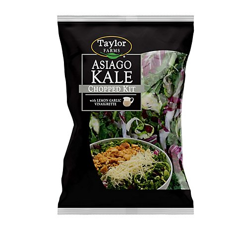 Taylor Farms Chopped Salad Kit Kale with Brussels Sprouts - Each
