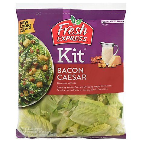 Fresh Express Bacon Caesar Salad Kit - 7 Oz