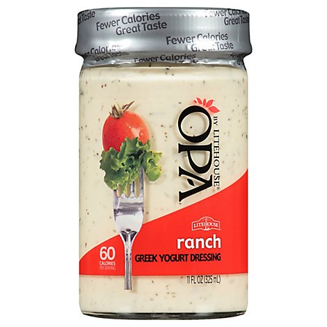 Litehouse Opa Dressing Greek Yogurt Ranch - 11 Fl. Oz.