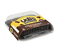 Udis Double Chocolate Muffins - 12 Oz