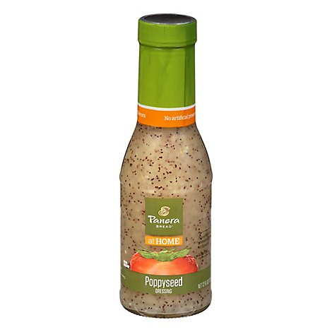 Panera Bread Dressing Poppyseed Fat Free - 12 Fl. Oz.