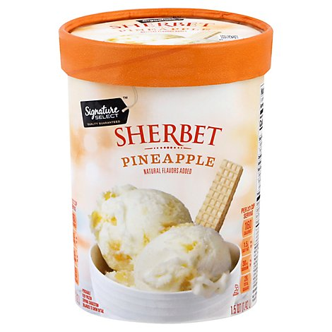 Signature SELECT Sherbet Pineapple - 1.5 Quart
