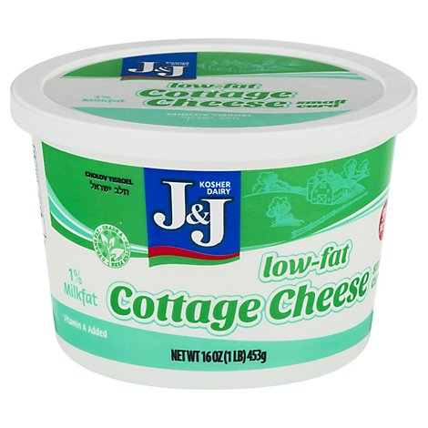 J&J Cottage Cheese Lowfat - 16 Oz
