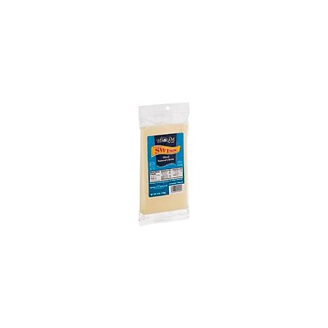 Haolam Domestic Wisconsin Sliced Swiss Cheese - 6 Oz