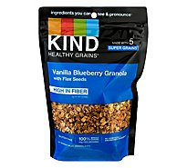KIND Healthy Grains Clusters Vanilla Blueberry with Flax Seeds - 11 Oz
