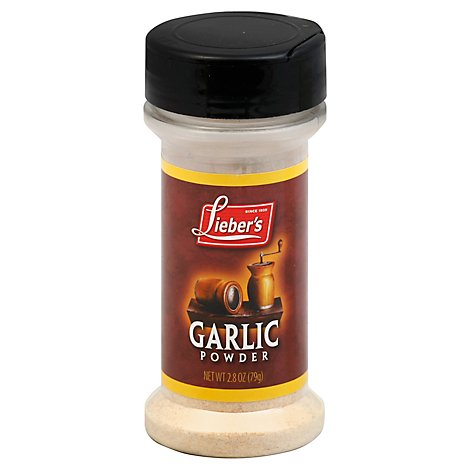 Liebers Spices Garlic Powder - 2.8 Oz