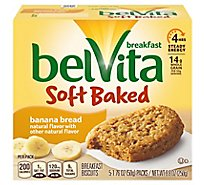 belVita Breakfast Biscuits Banana Bread - 5-1.76 Oz