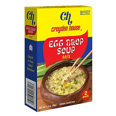 Croyden House Soup Mix Egg Drop - 3.5 Oz