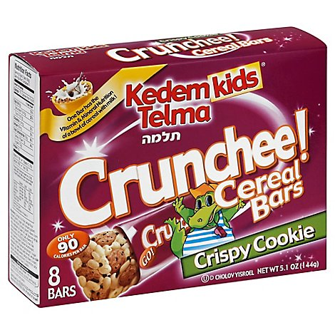 Kedem Kids Cereal Bars Cookie Crisp - 5.1 Oz
