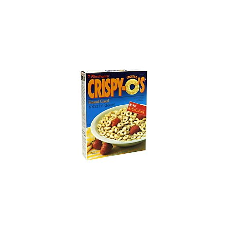 Crispy O Cereal Frosted - 6.6 Oz