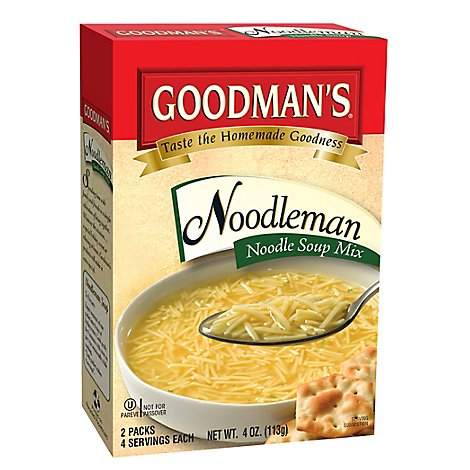 Goodmans Soup Mix Noodleman 2 Pack - 4 Oz