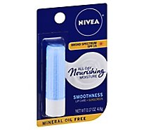 Nivea Lip Care Kiss Of Smoothness SPF 15 - .17 Oz