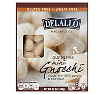 DeLallo Pasta Gnocchi Potato Gluten Free Box - 12 Oz