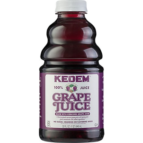 Kedem Concord Grape Juice - 32 Fl. Oz.